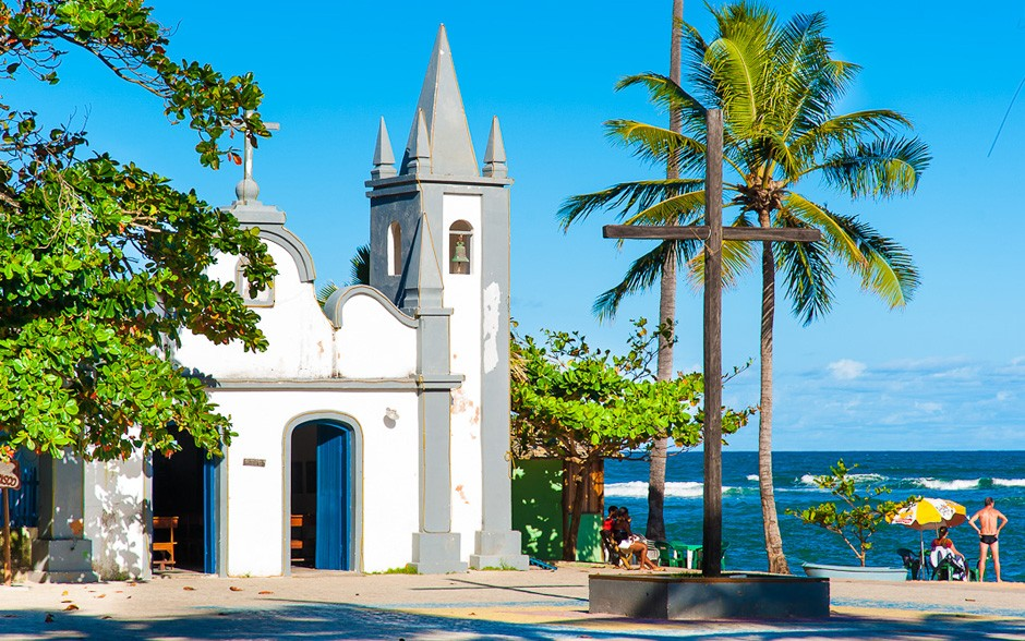 Alameda do Sol na Praia do Forte Bahia