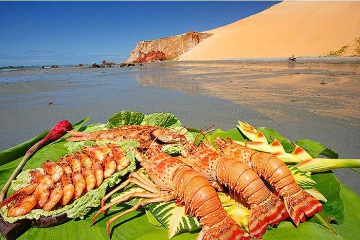 Icapuí é conhecida como a terra da lagosta